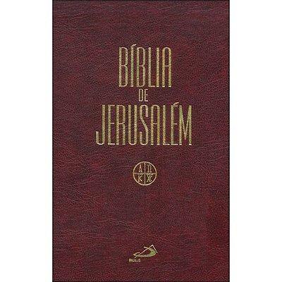 Biblia de Jerusalem Encadernada