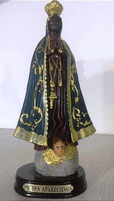 Imagem de Nossa Senhora Aparecida 22cm (Resina)