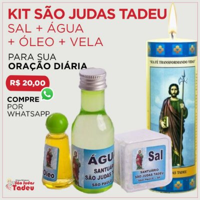 Kit São Judas Tadeu