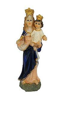 Imagem Nossa Senhora Auxiliadora (resina 10cm)