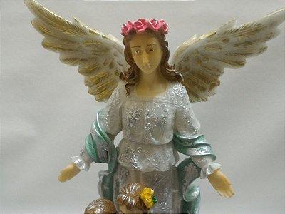 Anjo Da Guarda Resina 29 Cm Anjos