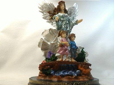 Anjo Da Guarda Resina 30 Cm Anjos