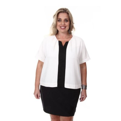 Blusa Plus Size Amanda | Loulic
