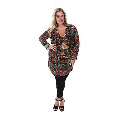 Vestido Chemise Plus Size Isadora | Loulic