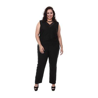 Macacão Plus Size Brenda | Loulic