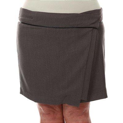 Saia Plus Size Curta Lais | Loulic