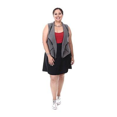 Saia Plus Size Êvase Katia | Loulic