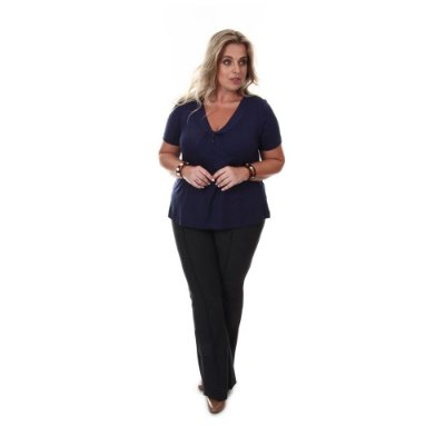 Calça Plus Size Diana | Loulic