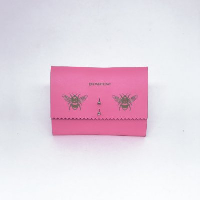 Carteira 'Abby' Pink Pequena