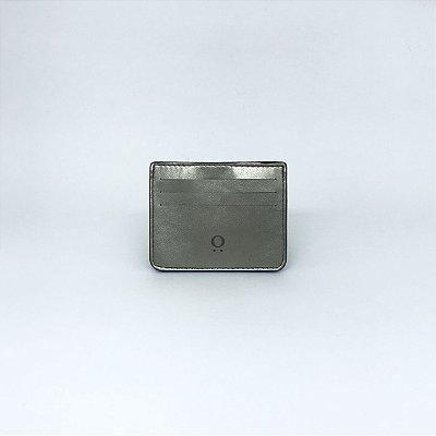 Porta Cartões 'Sam' Metalic Kaki