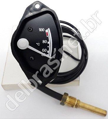 Termômetro Água Motor 1/2Lua - Cabo 2,00m - Rosca 14x1,5
