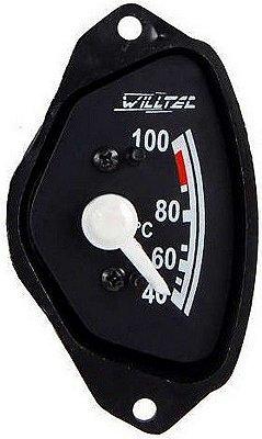 Termômetro Água Motor 40-100ºC 1/2 Lua - 12V