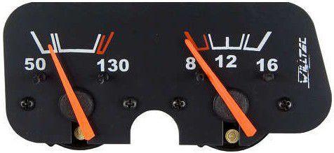 Instrumento Combinado - Temperatura Óleo / Voltímetro - Toyota Band |WILLTEC|