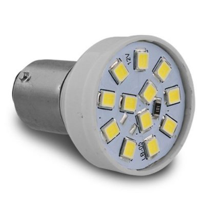 Led 1 Polo Branca 12v Autopoli