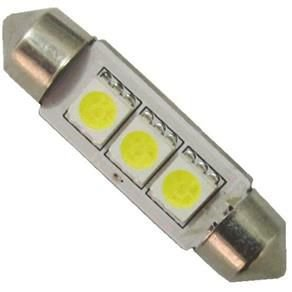 Led Torpedo 39mm 3 Leds 12v Importado