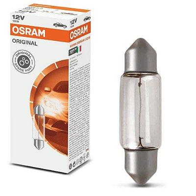Lampada torpedo 31mm 12v Osram