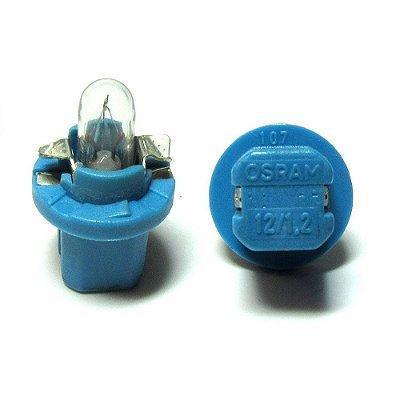Soquete Azul com Lampada  1,2w 12v Osram