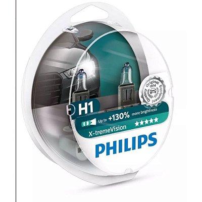 Lampada H1 X-treme Vision 130% Philips 55w 12v