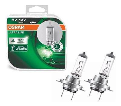 Lampada H7 Ultralife Osram 55w 12v