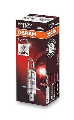 Lampada H1 super 30% Osram 55w 12v Cada
