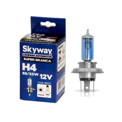 Lampada H4 Super Branca Skyway 60/55w 12v