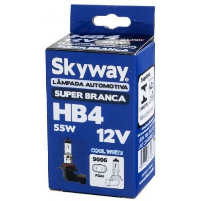 Lampada HB4 Super Branca Skyway 55w 12v