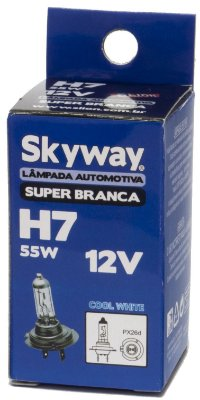 Lampada H7 Super Branca Skyway 55w 12v