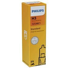 Lampada H3 Philips 55w 12v