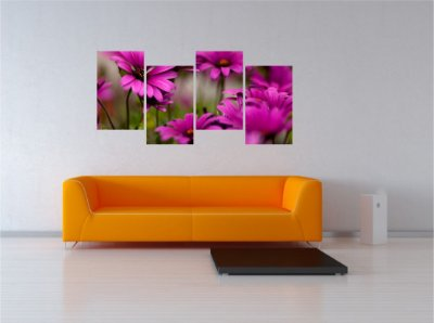 Adesivo Quadro Flores