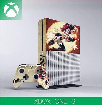 Capa skin xbox one S - fallout