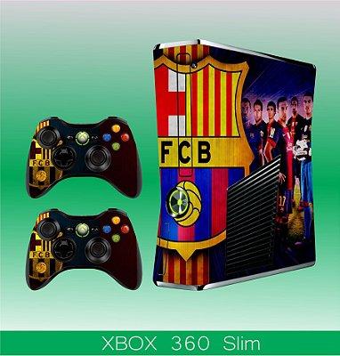 Capa skin xbox 360 slim- FCB