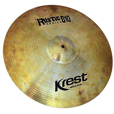 "Prato Krest Medium Crash 16"" Rustic Series B10"