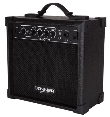 Cubo Amplificador para Guitarra Donner Electra - 15W RMS