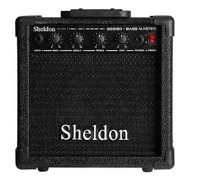 Cubo Para Baixo Bss150 Sheldon Preto 15w