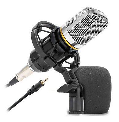 Microfone Condensador de Estúdio KNUP KP-M0021