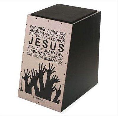 Cajon Spanking Vanguarda Acústico Jesus