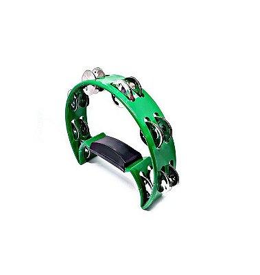 Pandeiro/Pandeirola Meia Lua Spanking ABS Verde