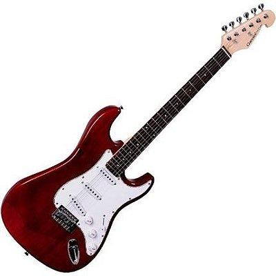 Guitarra Strato Giannini G-100 Vermelha