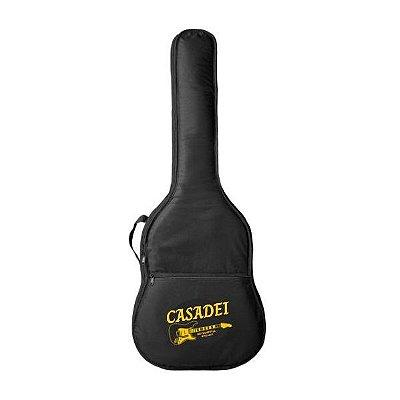 Capa de violão folk acolchoada