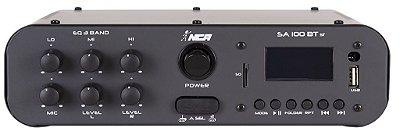Amplificador Compacto de Potência NCA - SA100 BT Stéreo Bluetooth