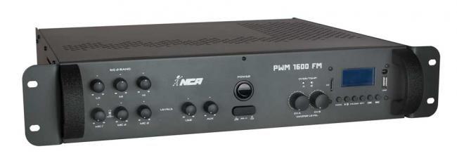 Potência com pré-embutido mono - PWM1600 FM