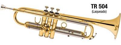 Trompete Eagle em Sib TR504