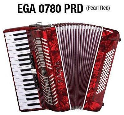 Acordeon Eagle 80 Baixos - 7 Registros EGA0780