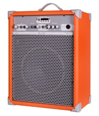 Caixa de Som Amplificada Multiuso UP!10 FM/USB/BLUETOOTH - Laranja