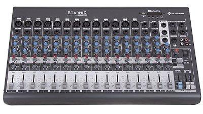 Mesa de Som Linha Starmix XMS XMS1602D 16 CANAIS