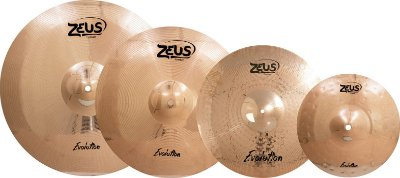 Kit de pratos ZEUS Evolution com Bag