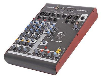 Mesa de som linha Millenium mx402r com efeito e Phantom power 48v