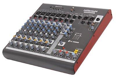 Mesa de som linha Millenium mx802r com efeito e Phantom power 48v