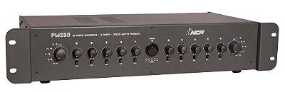 Amplificador De Potência Nca Pw550 10 Canais Distintos 300w