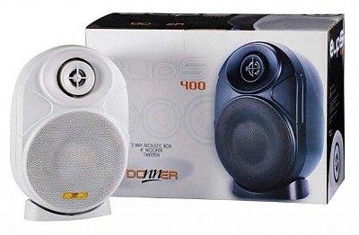 Par de Caixas Acústicas p/ Som Ambiente ELIPS400 - 60W RMS Branca